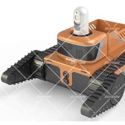 履带式救援机器人