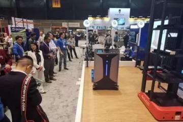 重新定义叉式AGV 国自机器人SLIM新品全球首发