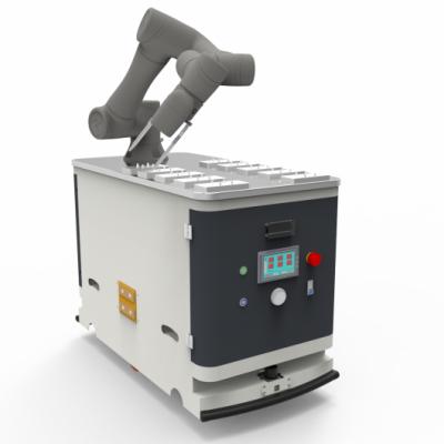 快捷机器人 背负机械手AGV