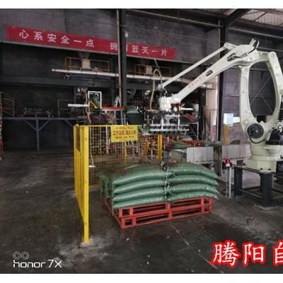 码垛机器人取代包装工,推动智能化生产