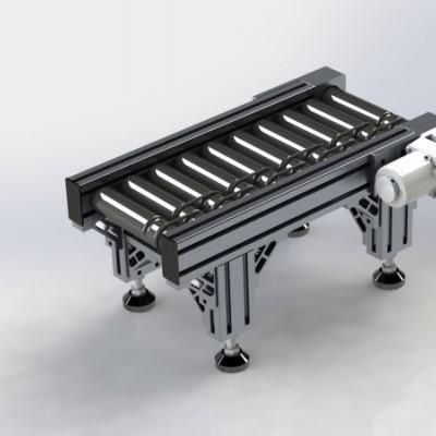 铝合金辊筒输送线