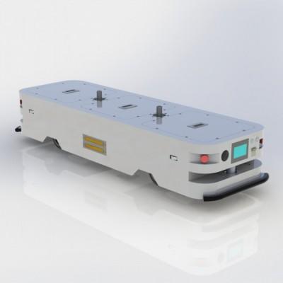 牵引潜伏式AGV